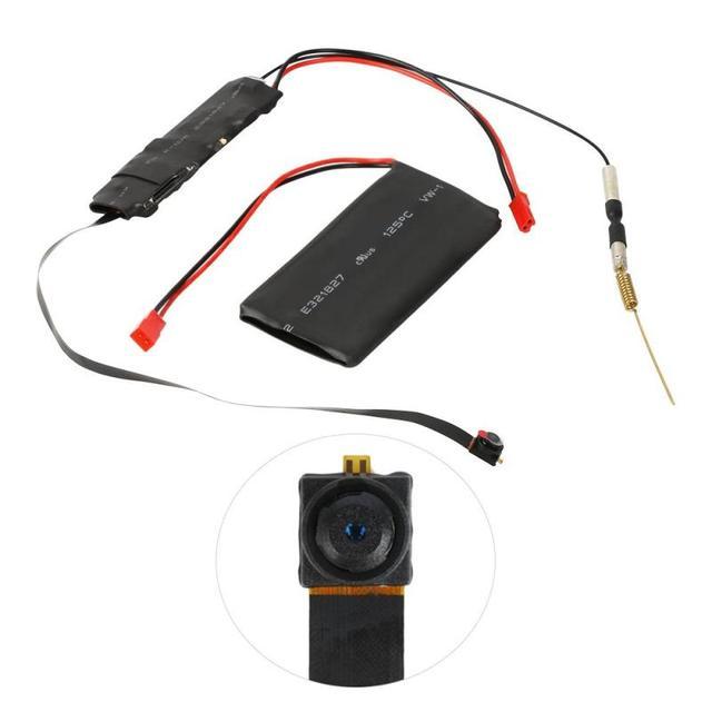 DIY Câmera Mini Câmera Wi-fi Full HD 1080 P Filmadora P2P Vídeo De Detecção De Movimento de Segurança com 2.4G RF Remoto controle de Câmera DIY