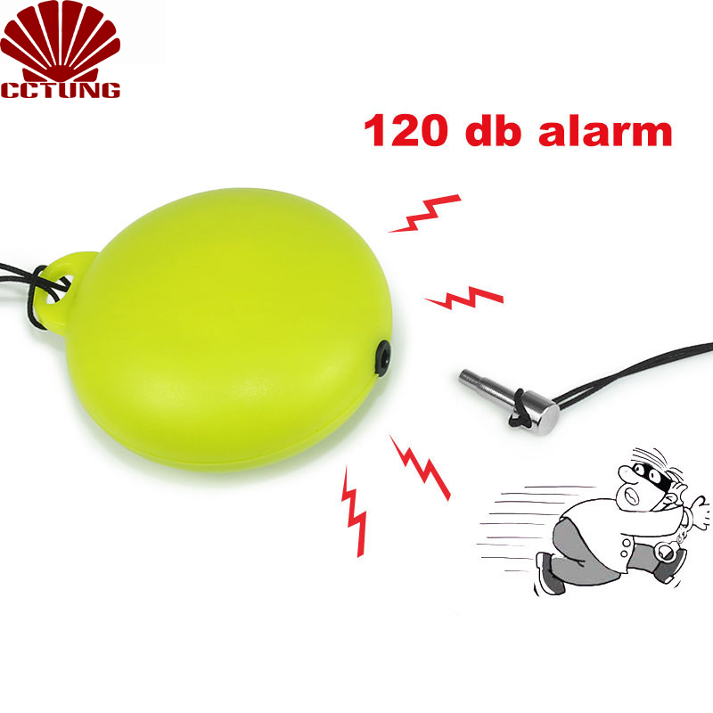 120db Personal Safe Sound Alarm Keychain With LED Safety & SOS Emergency Alarm Providing Powerful Safety And Property Assurance