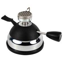 Миниатюрная газовая горелка Ht-5015Pa мини настольный бутан горелки нагреватель для кофеварка с сифоном или Чай Портативный газовая плита, мини кофе