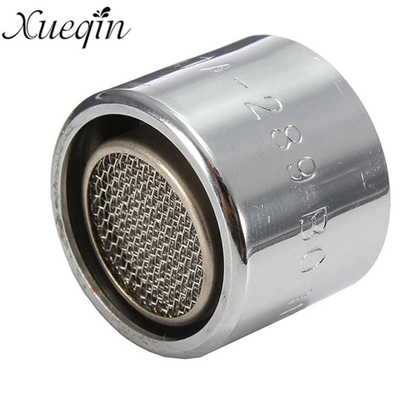 1Pcs 20MM Brass Faucet Tap Aerator Water Saving Diffuser For Home Kitchen Chrome Finish Bathroom Sinks Faucets Accessories
