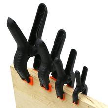 Жесткий пластиковый А-образный зажим для обработки дерева ручной винтовой зажим фиксационный зажим зажимной петух микро Пружинные зажимы Набор DIY Инструменты ручка