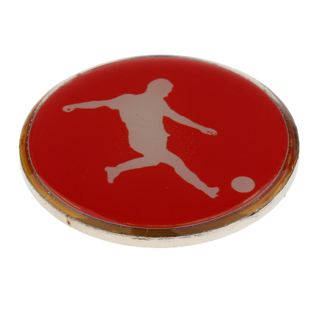 High Quality Football Soccer Badminton Table Tennis Referee Flip Toss Coin Disc 3.5cm Football Referee Toss Coin