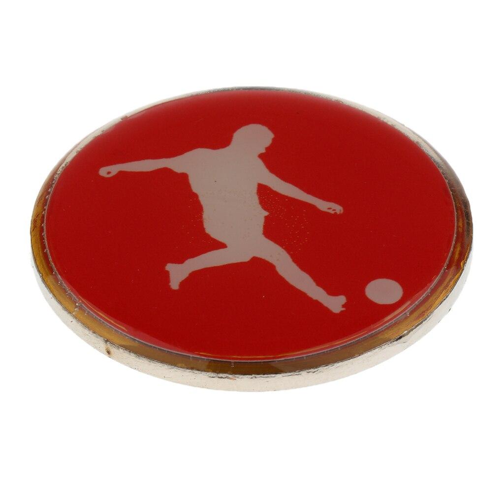 High Quality Football Soccer Badminton Table Tennis Referee Flip Toss Coin Disc 3.5cm Football Referee Toss Coin