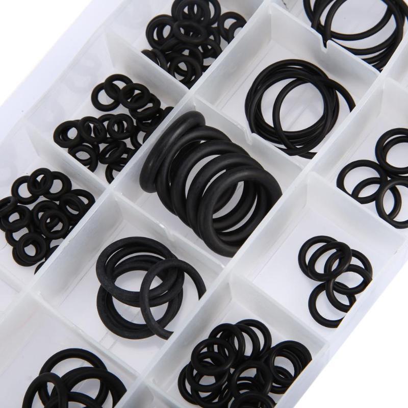 225 шт инструмент уплотнительное кольцо шайба уплотнения ассортимент черный для авто запчасти Новые сальники