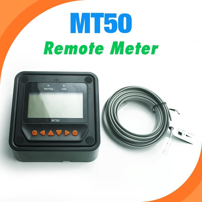 원격 측정기 디스플레이 MT-50 EPever EPsolar MPPT 태양열 충전 컨트롤러 추적기-트레이서-BN TRIRON XTRA ViewStar AU BN 시리즈