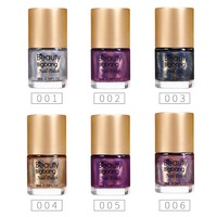 BeautyBigBang 6 bottles Holographic Nail Polish NEW Arrival 2018 Colorful Holo nailpolish nail varnish Glitter Nail Polish Set