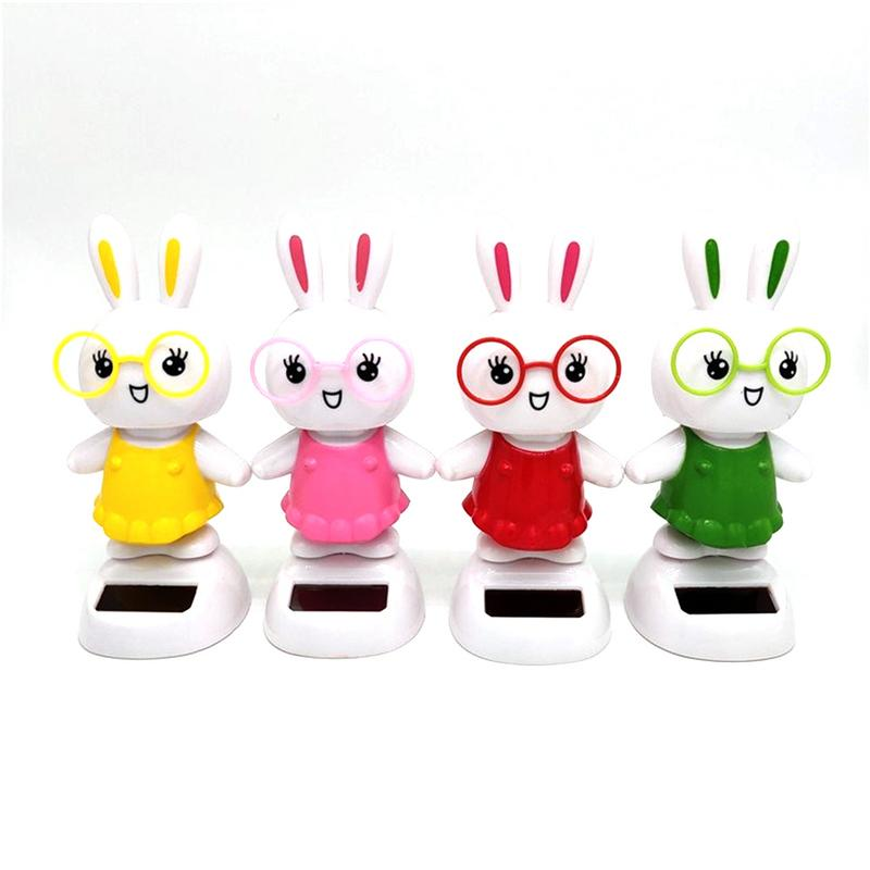 Baby Car Seat Price At Game Stores Car Ornaments Cute Dancing Swinging Head Rabbit Doll