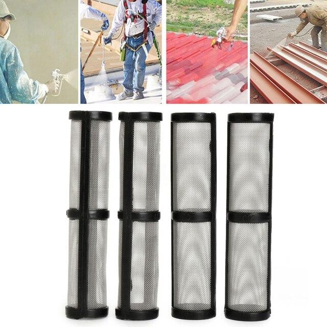 4PCS X Black 60 Mesh Airless Spray Pump Filter For _Graco 390/395/495/595 Sprayer