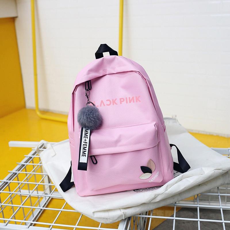 Wanna One Bts Twice Exo Got7 Backpacks Monsta X Backpack Sac A Dos Kpop K-pop K Pop School Bag Backpack For Teenager Girl Women #4