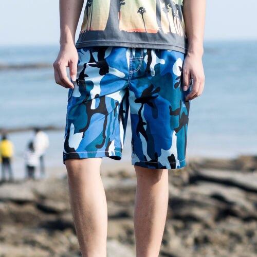 2018 Men New Camouflage   Board     Shorts   Beach Wear   Shorts
