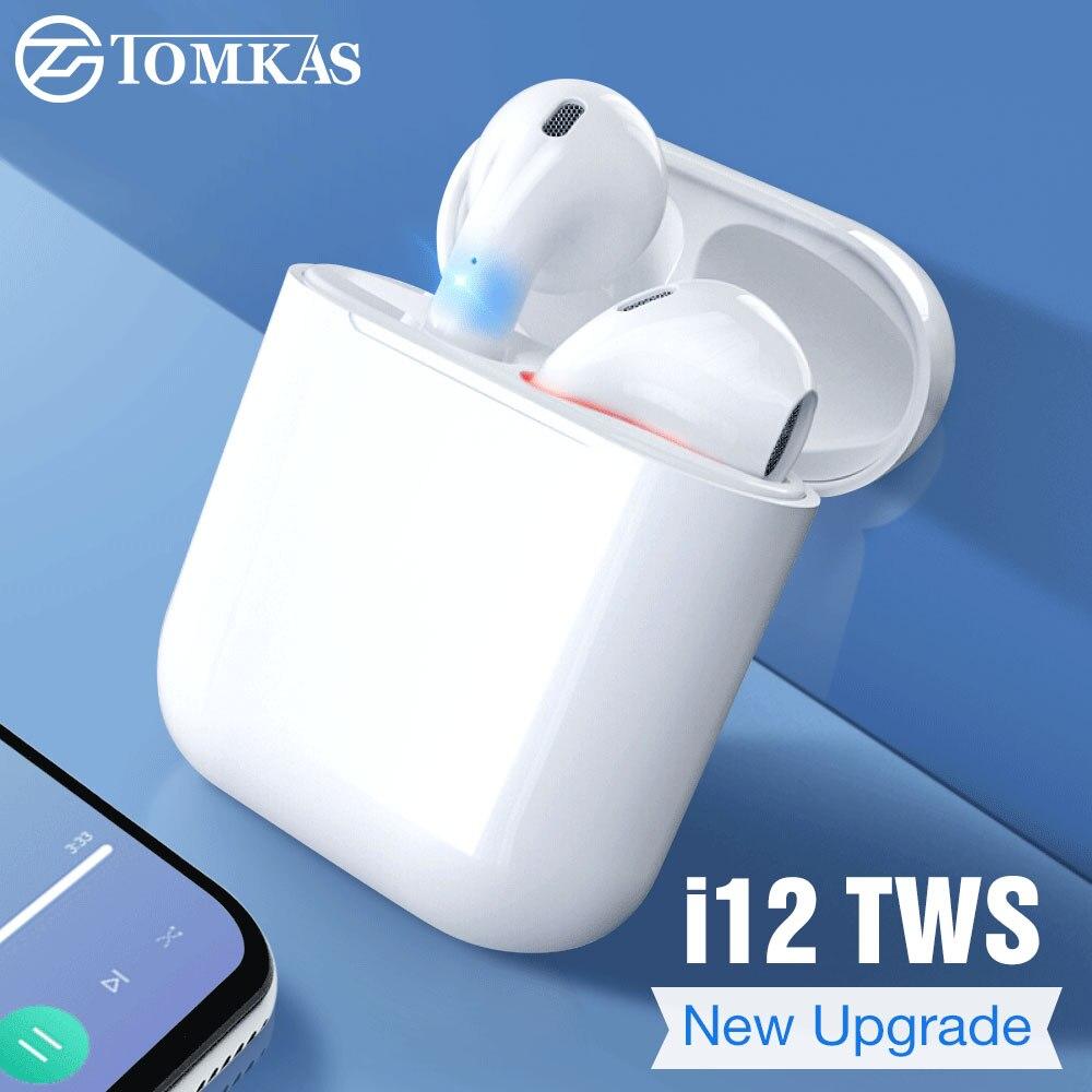 a2015b97740 2019 Mini i12 TWS Touch Bluetooth 5.0 Earphone Original True Wireless  Earphones Bass Headset PK i10 i88 i13 i14 i11 TWS Airdots
