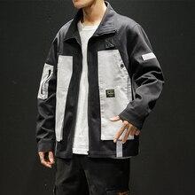 2019 spring autumn new Korean version trend original Japanese casual jacket men's loose large size windbreaker Free shipping