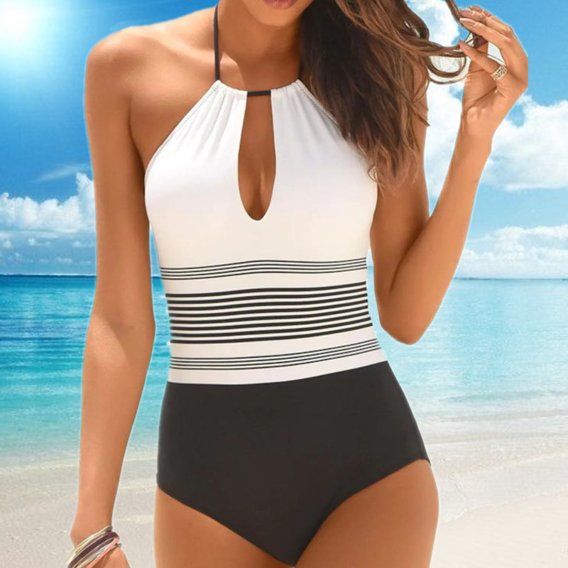 One-Piece Swimsuit Closed Fused Women Bather Beach Female Push Up Swimwear For The Pool Body Bathing Suit Sports Swimming Suit