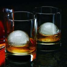 Силиконовая форма ледяной шар автономная Лейка для вина Одиночная круглая форма шара