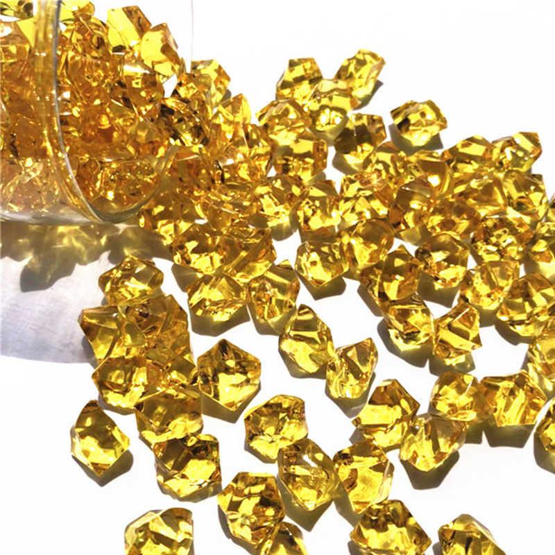 150 sztuk kryształy akrylowe akwarium kamień skały klejnoty kamyki wesele dekoracja do przydomowego ogrodu dostaw