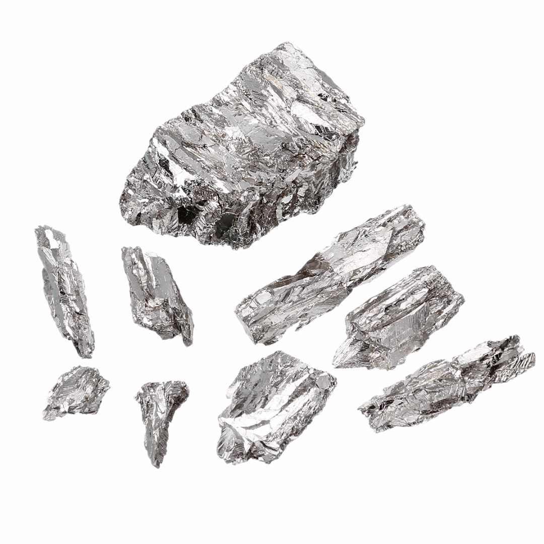 100 г/компл. 99.995% чистый слиток висмута 9,8/g/cc твердого металла Би частицы нетоксичный промышленности катализаторы оборудование для производства