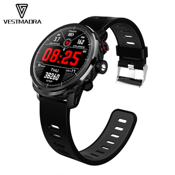 VESTMADRA L5 Smart Watch Men Waterproof Heart Rate Monitoring Standby 100 Days Multiple Sports Mode Weather Forecast Smartwatch