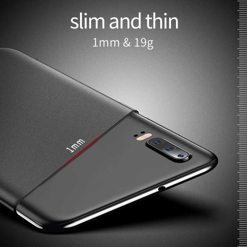 MSVII para Huawei P30 Lite funda para Huawei P30 Pro funda dura P30 funda trasera mate delgada a prueba de huellas dactilares Fundas