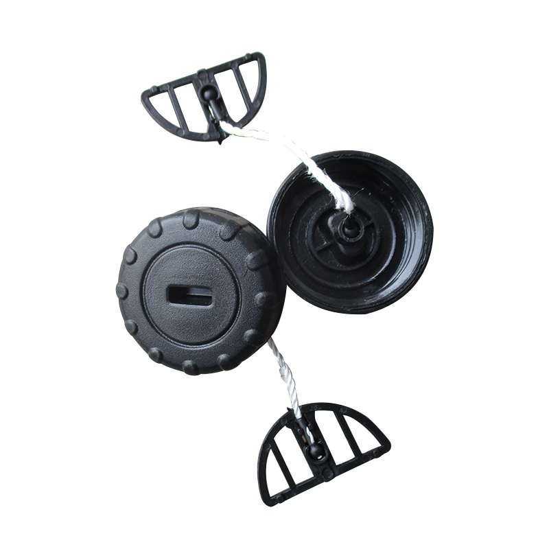 2Pc For Stihl Chainsaw 017 018 MS170 MS180 Fuel Gas Oil Filler Caps Hot Black