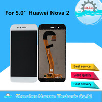M&Sen For 5.0 Huawei Nova 2 PIC AL00 PIC TL00 PIC LX9 LCD Screen display touch panel Digitizer display with frame replacement