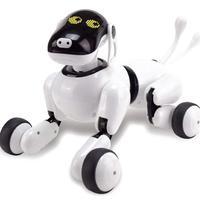 Удивительный робот собака прекрасная музыка блеск распознавание голоса Умная Электронная RC игрушка собака щенок музыка блеск игрушка дейс