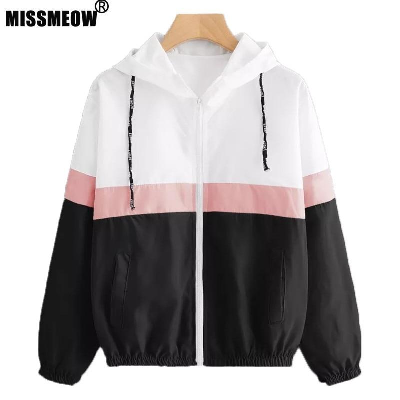 spring   jacket   women 2019 veste femme printempsCoat New Long Sleeve Loose   basic     jacket   woman casaco feminino outerwear coats