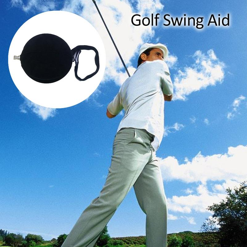 Intelligent Golf Inflatable Ball Swing Trainer Aid Posture Correction Golf Training Aid Dropshipping For Combined Practice