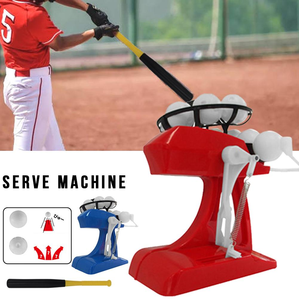 Electric Mini Child Baseball Machine Automatic Height Adjustable Ball Practice Serve Machine Paternity Interactive Toys For Kids