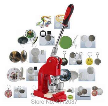 Znaczek dziurkacz naciśnij ekspres maszyna przycisk Pin Maker odznaka ekspres maszyna 58mm drukarka znaczek 25-75mm tanie i dobre opinie Badge Maker Machine