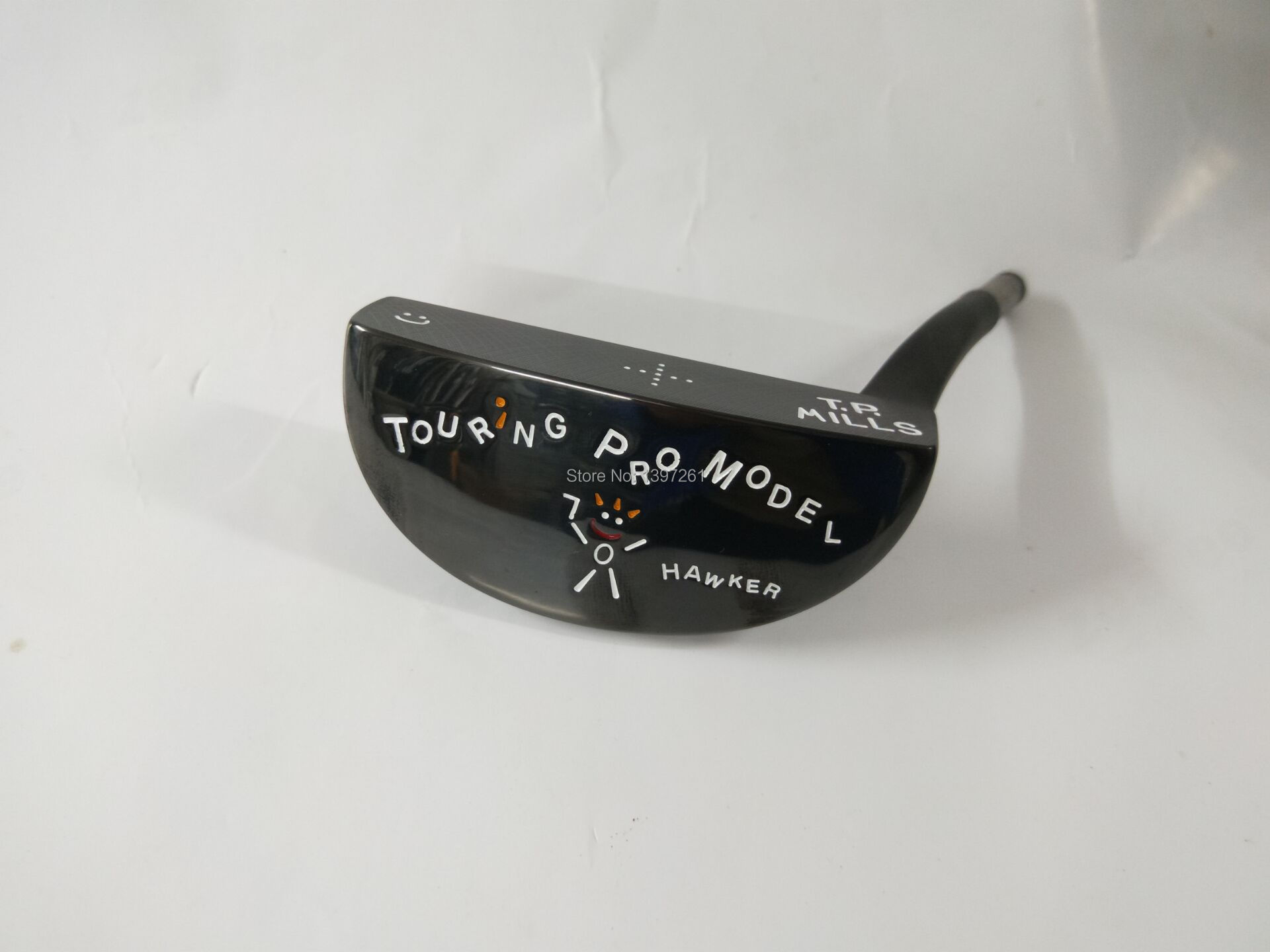 Golf Clubs TP  MILLS HAWKER TOURING  Golf Putter Head Black Color Golf Heads No Clubs Shaft Free Shipping