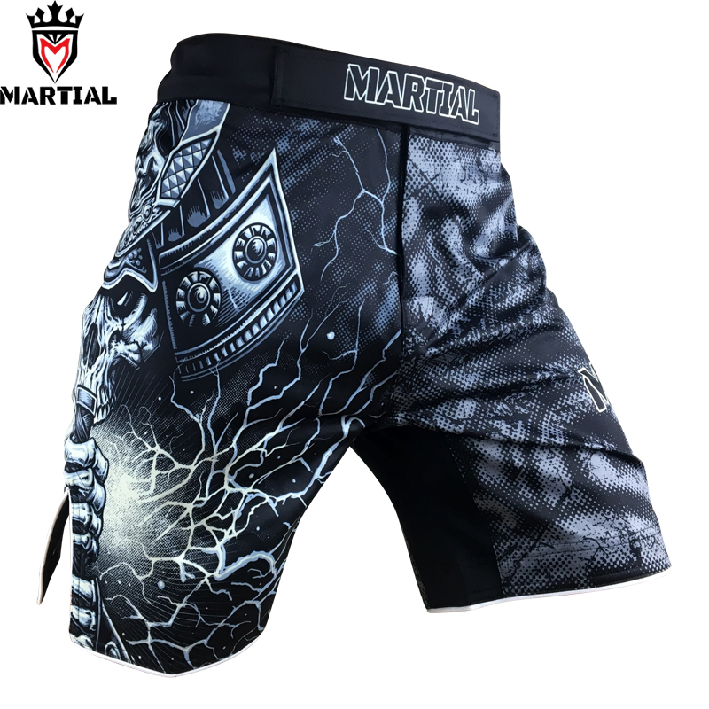 Free Shipping Martial:The WARRIOR mma fight <font><b>shorts</b></font> Size XXXL Grappling <font><b>SHORTS</b></font> bjj <font><b>short</b></font> pants <font><b>boxing</b></font> combat trunks image