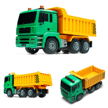 Rowsfire 1:20 4wd 2.4g RC Construction Vehicle Cement Mixer Concrete Model Rc Toy Car For Children Dump Truck 2019 Hot
