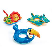 Baby Kids Inflatable Swimming Ring Summer Pool Catoon Animal Float Rings Inflatable Pool Toys for Children