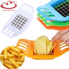 Резак для картофельных чипсов из нержавеющей стали, резак для овощей, фри, измельчитель чипсов, инструмент для изготовления кухонных гаджетов, аксессуары