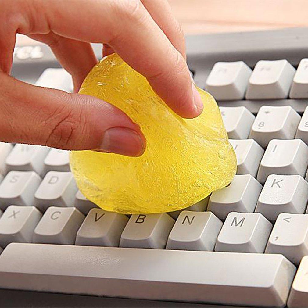 Limpiador del teclado mágico pegamento del Panel Interior de ventilación de aire de salida de tablero polvo portátil barro Remover magia herramienta de limpieza