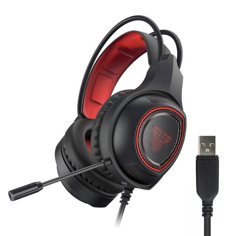 FANTECH HG16 Gaming Headset Gaming Audio And Video Headset Gaming Headset Computer Headset HD Stereo Wired In-ear Headphones