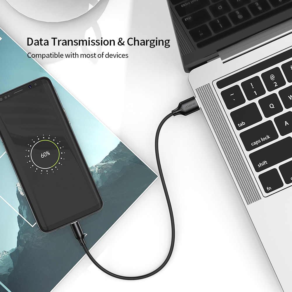 Raxfly Micro USB Kabel untuk Xiaomi Redmi Note 5 PRO Cepat Kabel Pengisi Daya Sinkronisasi Data untuk Samsung Huawei Ponsel Android kabel Micro USB