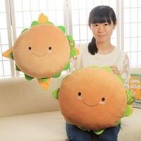 38CM Hamburger Soft Plush Stuffed Cushion Kid Toy Doll Food Pillow Kids Birthday Gift