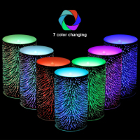 Color Changing Led Candle Light Timing Novelty Night Battery Power Table Lights Nightlight Kids Gift New Year Night Lamp