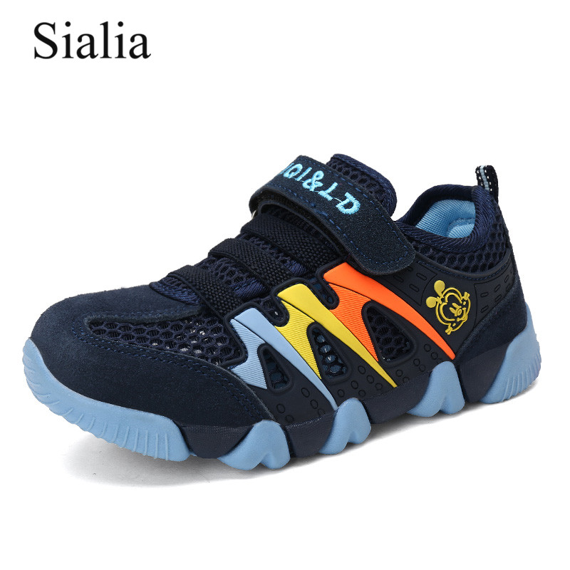Sialia Summer Children Shoes For Kids Sneakers Boys Casual Shoes Girls Sneakers Breathable Mesh Hook&Loop Fashion Outdoor 2019Sialia Summer Children Shoes For Kids Sneakers Boys Casual Shoes Girls Sneakers Breathable Mesh Hook&Loop Fashion Outdoor 2019