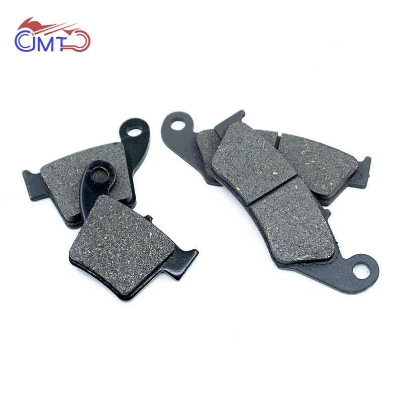 For Honda CRF250R 2004-2018 CRF250X 2004-2017 CRF450R 2002-2018 CRF450X 2005-2018 CR250R 2002-2007 Front Rear Brake Pads Set retro loft style rope bamboo droplight creative iron vintage pendant light fixtures dining room led hanging lamp home lighting