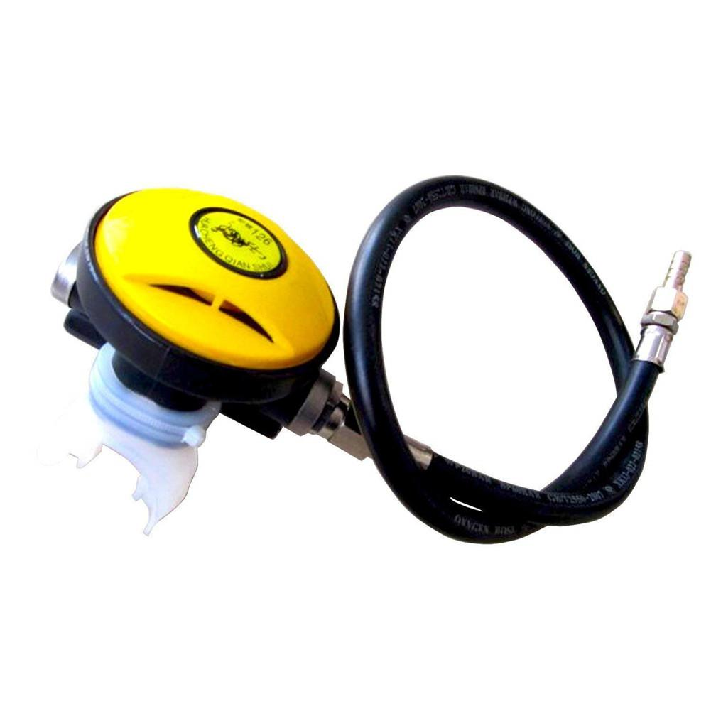 Mounchain 2nd Stage Diving Breathing Regulater Adjustable Explorer Diving Pressure Reducer Respirator Diving Mouth Bite Scuba