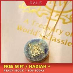 AURAREIKI Orgonite кулон ожерелье передача бусы ожерелье с амулетом конвертер энергии энергетическая Йога ожерелье подарок