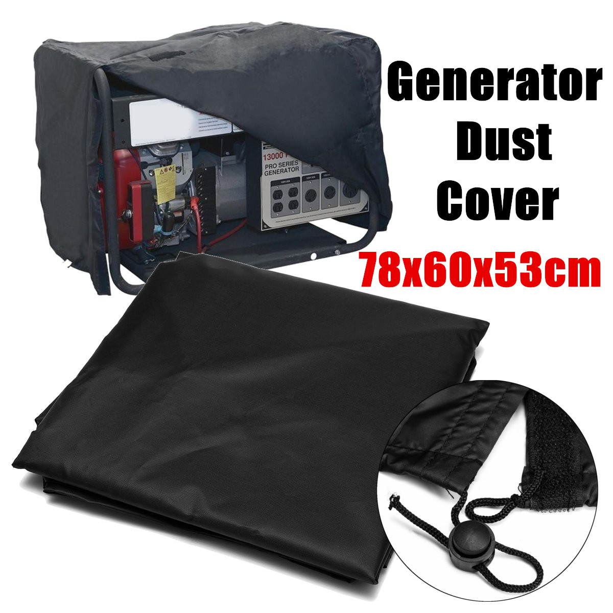 78x60x53cm 210D Generator Waterproof Dust Cover Protection Universal Accessory Oxford Cloth All-Purpose Covers Accessories