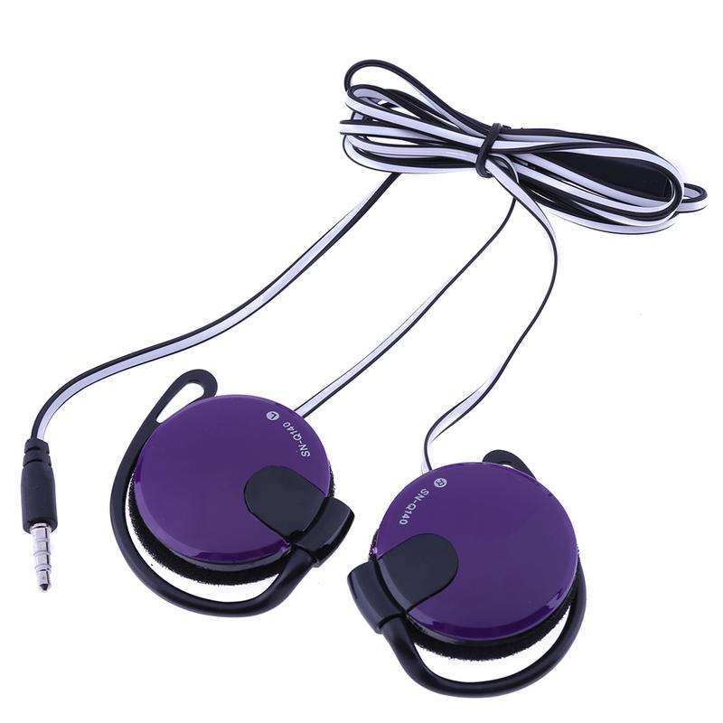 Ear-hook Magnetic <font><b>Earphone</b></font> <font><b>With</b></font> <font><b>Microphone</b></font> Multifunction Stereo Surround Sound Game Running Sports Music Earbuds For Smart Phone image