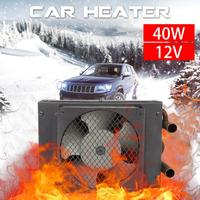 12V 40W Portable Car Heating Cooling Fan Heater Defroster Car Plumbing Durable Water Heating Machine For Automobile Trucks