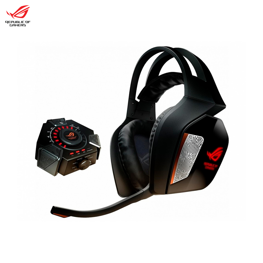 Earphones & Headphones ASUS ROG CENTURION 7.1 90YH00J1-M8UA00 computer wired headset gaming esports