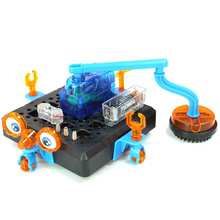 Creative Experiments Space Cleaning Robot Vacuum Physics Science Set Scientific Kits Discovery DIY Model Building Brain Kid Toys