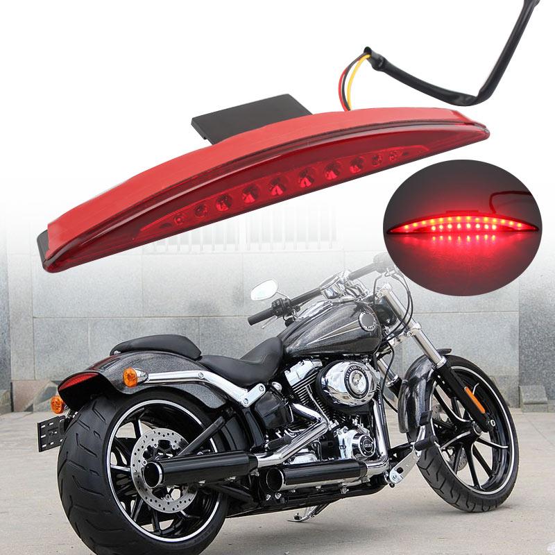 Rear Fender Tip Brake Tail Light LED For Harley Davidson Breakout FXSB 2013-2017