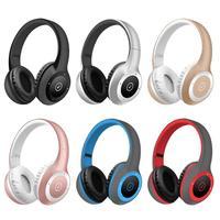 T8 Wireless Bluetooth Headphone Power Display Call Function Stereo HIFI MP3 Sports Headset Headband Earphone Support TF Card